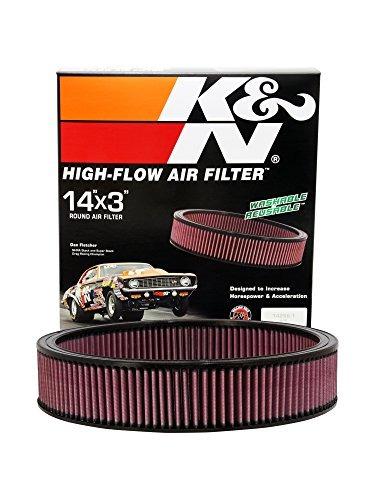 filtro alto flujo k&n catalina 428 v8 w/s de aire ram 1969-