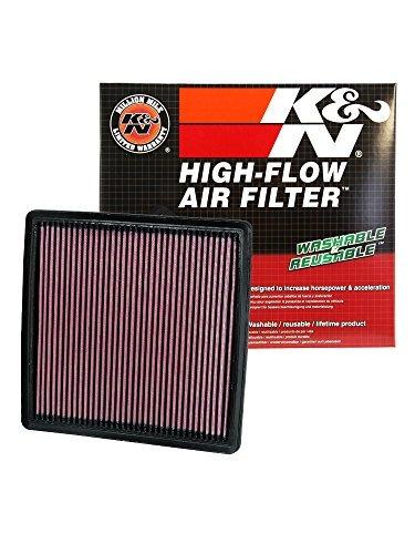 filtro alto flujo k&n ford f150 5.0l v8 f/i 2011 - 2017 -