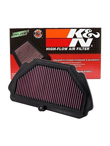 filtro alto flujo k&n kawasaki zx6r ninja 600 - todos los 20