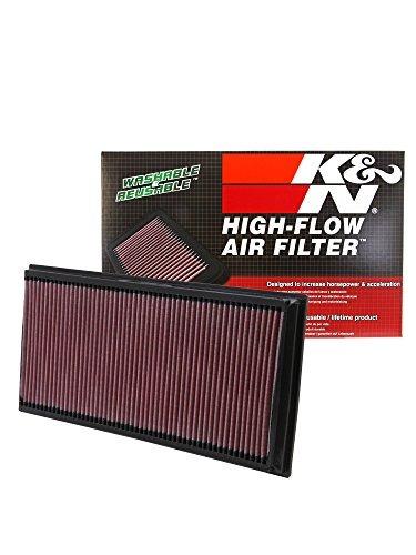 filtro alto flujo k&n porsche cayenne 3.6l v6 f/i 2007-2017