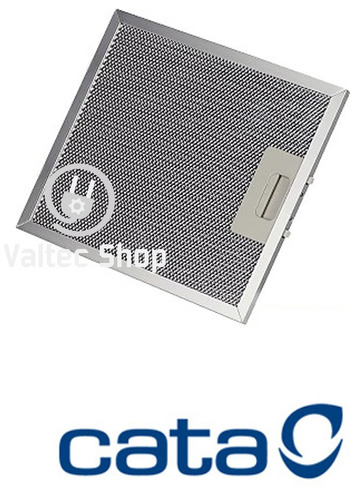 filtro alumínio coifa cata mira | 23 x 26 cm | 3 peças