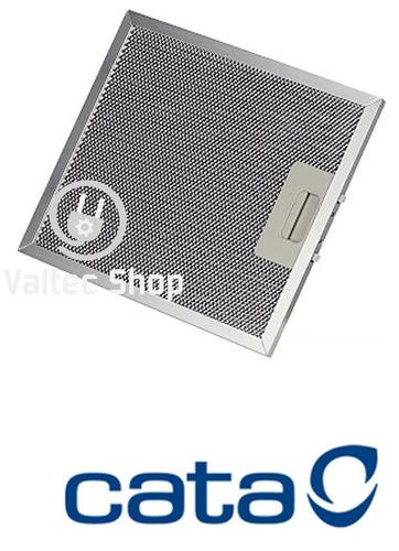 filtro alumínio metálico coifa cata | 26 x 32 cm | 2 peças