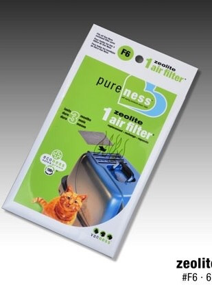 filtro anti-olores para arenero para  gato marca vanness