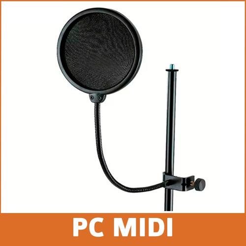 filtro anti pop microfono condensador  alctron pf04 promo