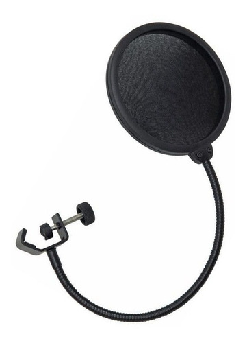 filtro anti pop para micrófono - reforzado y ajustable