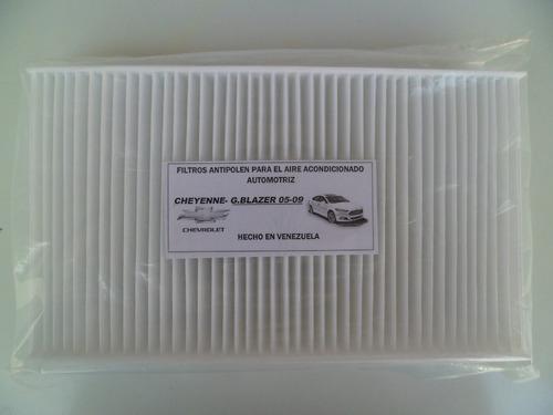 filtro antipolen chevrolet cheyenne silverado 2005 al 2009