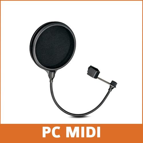 filtro antipop para microfonos condensador alctron pf04