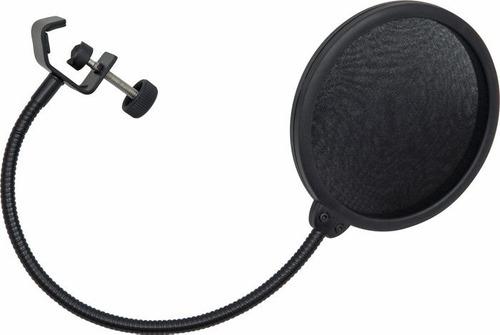 filtro antipop universal de tela para microfono condensador
