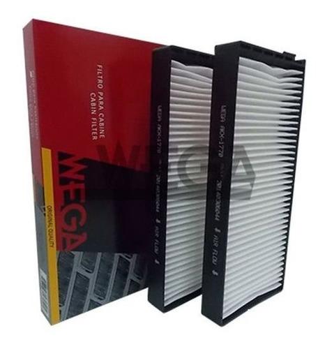 filtro ar condicionado jac j3 1.4 16v gasolina 2012 akx1770
