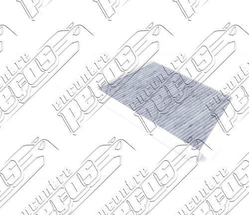 filtro ar condicionado mercedes c200 kompressor 2000 a 2007