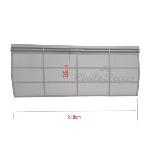filtro ar condicionado piso teto carrier springer 60.000 btu