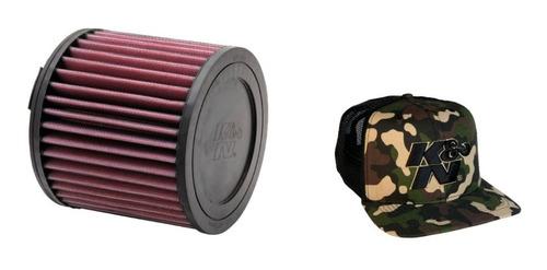 filtro ar esportivo k&n audi a1 todos e-2997 brinde boné k&n
