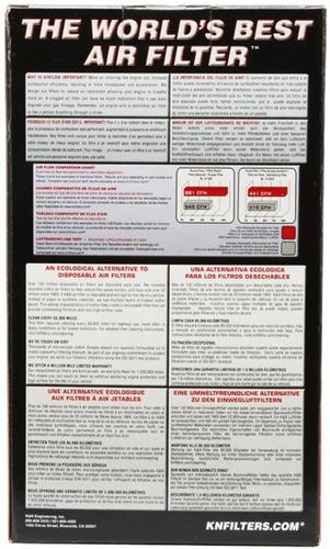 filtro ar k&n cbr 1000rr repsol 04/07 esportivo cônico