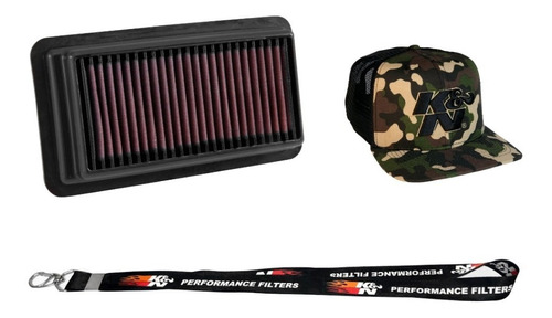 filtro ar k&n inbox civic touring 1.5 turbo 33-5044 brinde