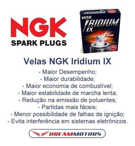 filtro ar k&n ya-3215 + velas ngk iridium yamaha r3 mt-03