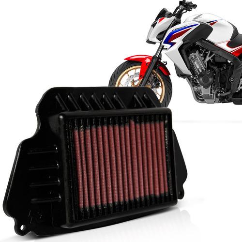 filtro ar moto k&n cb650f 2014 2015 2016