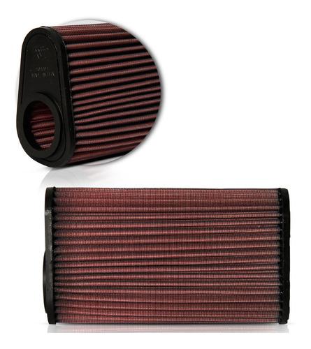 filtro ar moto k&n hornet cb600f 08 09 10 11 12 13 14