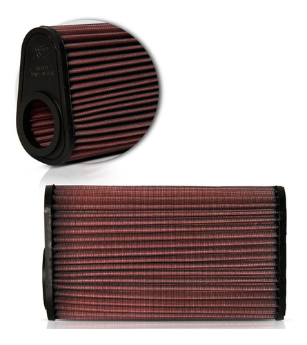 filtro ar moto k&n hornet cbr600f 2012 2013 2014 carenada
