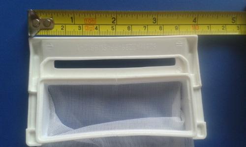 filtro atrapamotas grande para lavado lg  valor x 1 unidad