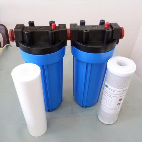 filtro bajo tanque de 3/4, carcasas y filtros matrikx