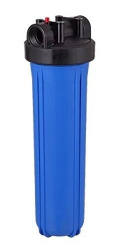filtro big blue para água poço artesiano cisterna lavável 20