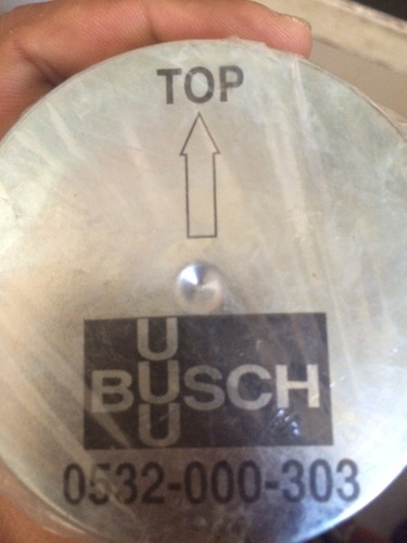filtro bomba de vacio busch 532.000.303
