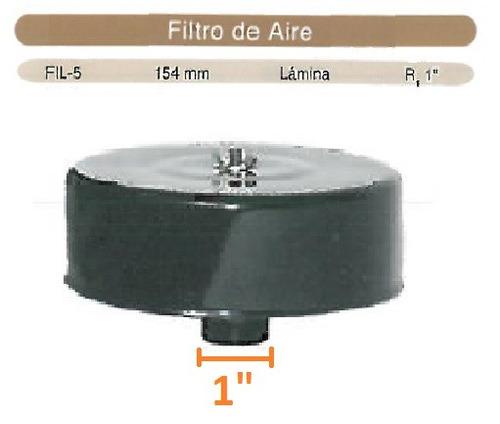 filtro cabezal evans aire para compresor 1 pulgada metalico