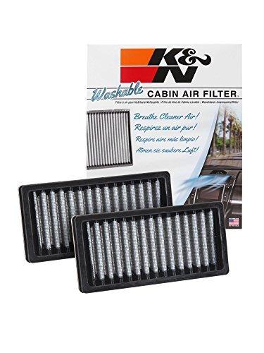 filtro cabina k&n jeep wrangler 3.6l v6 f/i 2012 - 2015 -