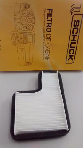 filtro cabine ar condicionado vw santana 2.0 91/.. em diante