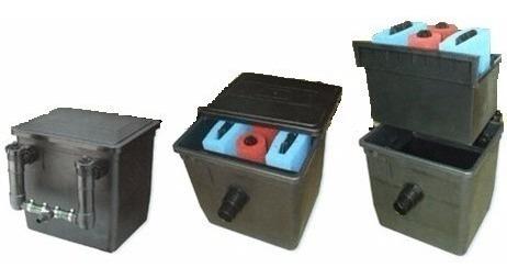filtro caixa c/ bomba 50l 10000l uvc 18w 220v jebo lago aquá