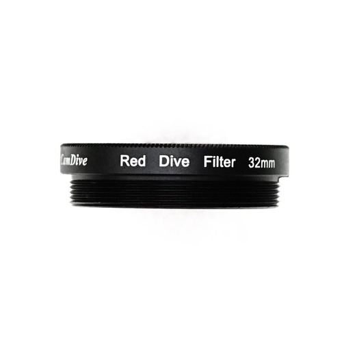 filtro camdive red diving para fundas impermeables meikon ip