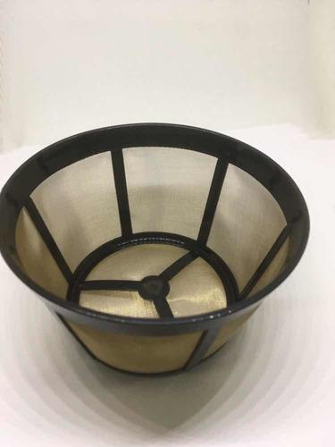 filtro canasta  para cafeteras 10-12 tazas malla en acero