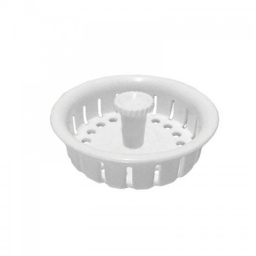 filtro canastilla 4  plástico blanco