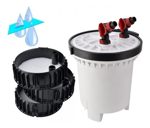 filtro canister sunsun hw-5000 - com uv 9w c/ bomba 4600l\h