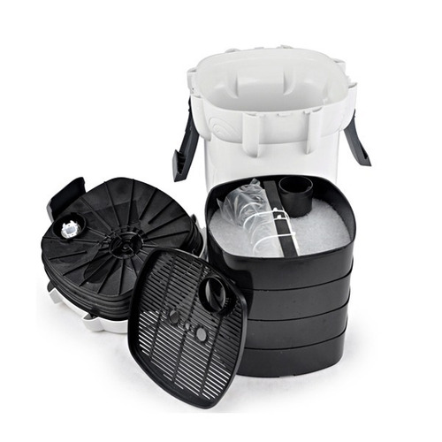 filtro canister uv 9w sunsun hw-403b 1400 l/h 110v
