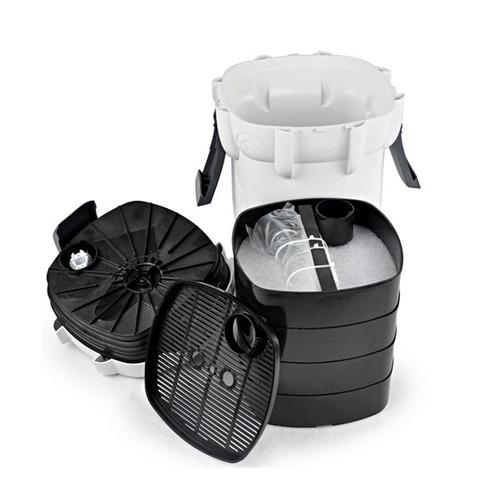 filtro canister uv 9w sunsun hw-404b 2000l/h 220v