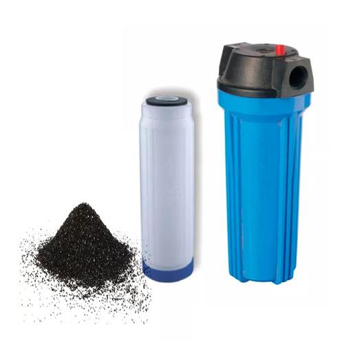 filtro carbon activado cloro gustos olores tanque aquatank