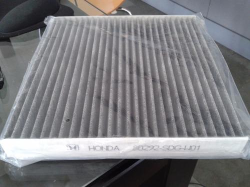 filtro carbono polen honda cr-v accord civic crv nuevos