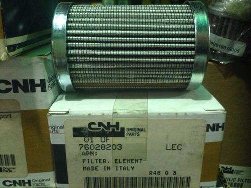 filtro cartucho hidraulico cnh 76028203 case new holland