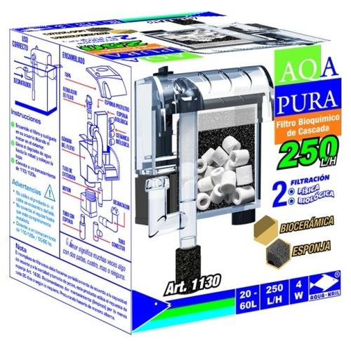 filtro cascada aquapura 250 l/h 20-60 l 1130