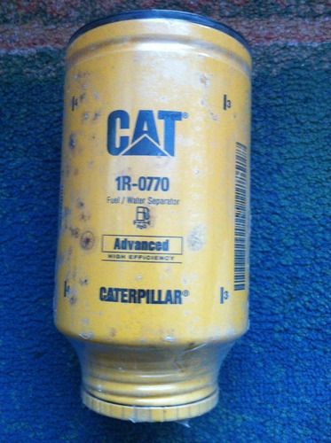 filtro caterpillar 1r0770 advanced fuel/water cat agua