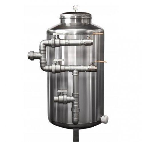 filtro central aguá potável aço inox 304 -10000l -pirafiltr