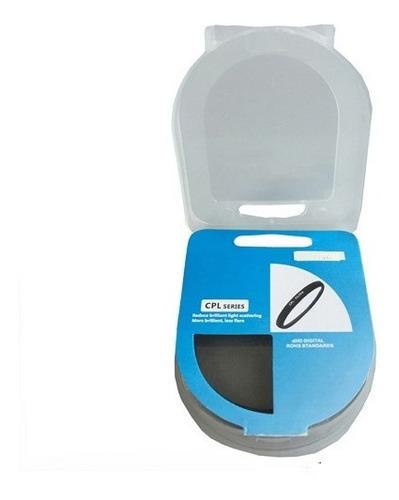 filtro circular polarizado c-pl cpl 62mm cristal optico