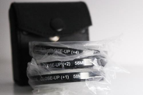 filtro close-up 58mm