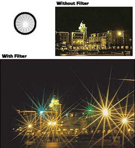 filtro cokin serie p star 16 brillos