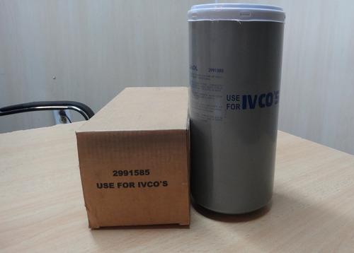 filtro combustible iveco 2991585 33662 bf7696 p550472 ff5457