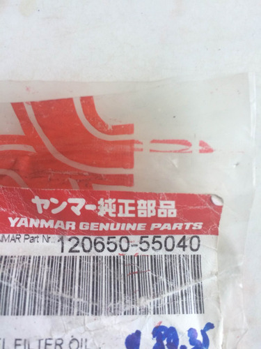 filtro combustible secundario yanmar 4by, 6by.sale 100 usd