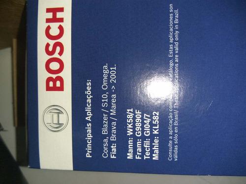 filtro combustível bosch