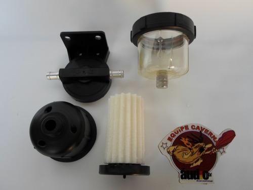 filtro combustível diesel c/ separador de água/lavavel