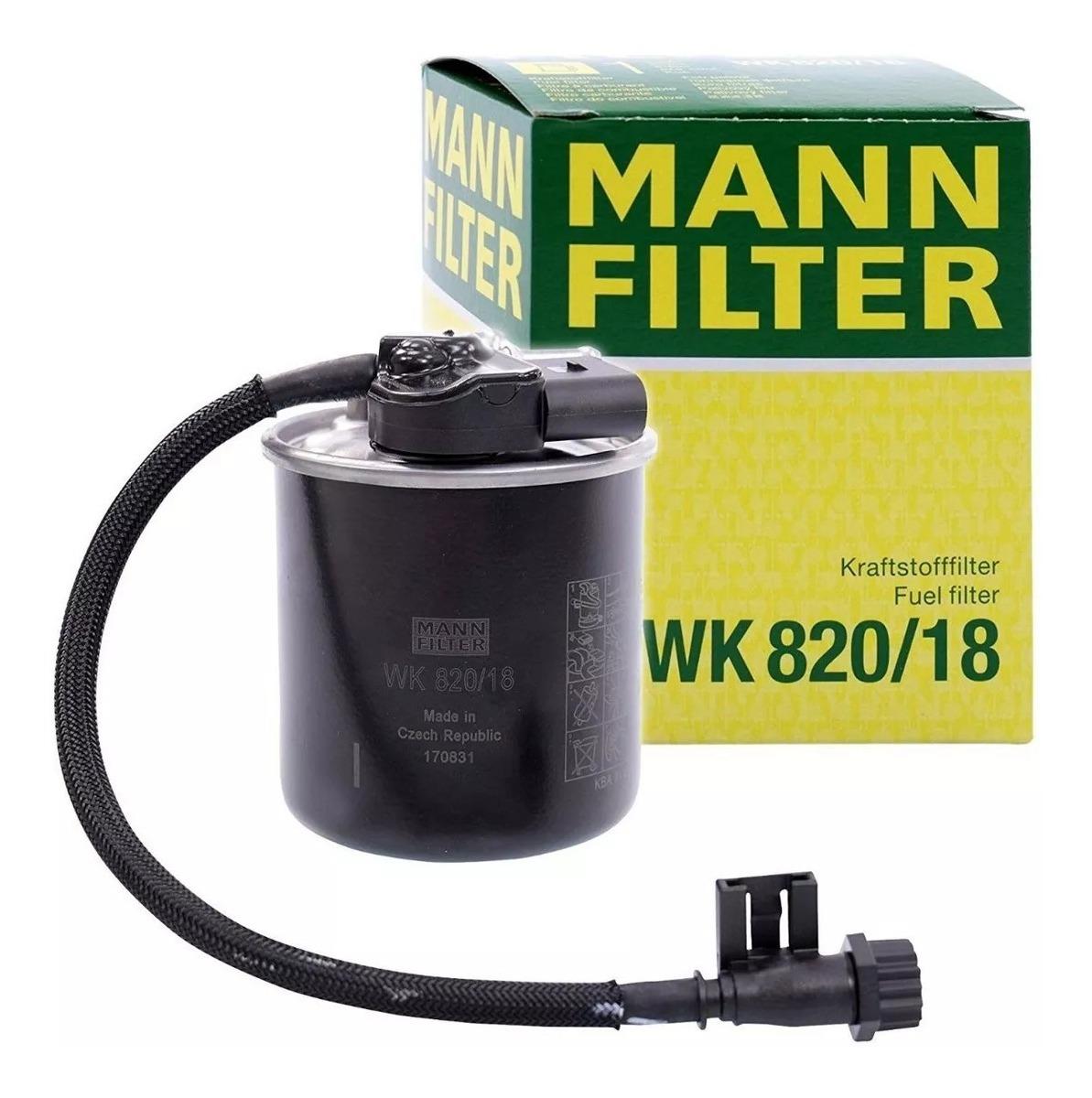 Mann Filter WK 820//18 Filtro Carburante
